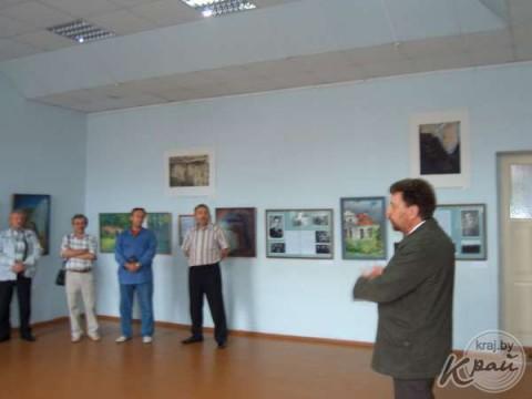 Wystawa katyńska w Domu Polskim w Iwieńcu, fot.: kraj.by