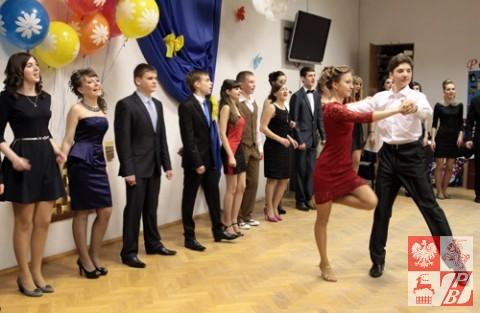 Taniec w wykonaniu maturzystów