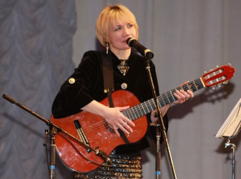 Współorganizatorka Festiwalu Piosenki im. Anny German Maryna Towarnicka, fot.: wandrowka.by