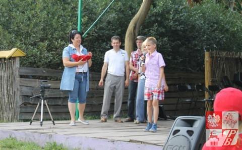 Zadaniem młodego konkursanta było zaśpiewanie zwrotki popularnej piosenki polskiej