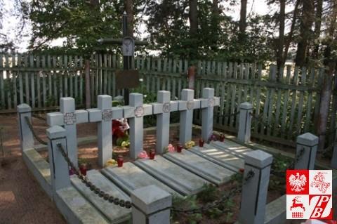 Kwatera poległych w Surkontach żołnierzy AK