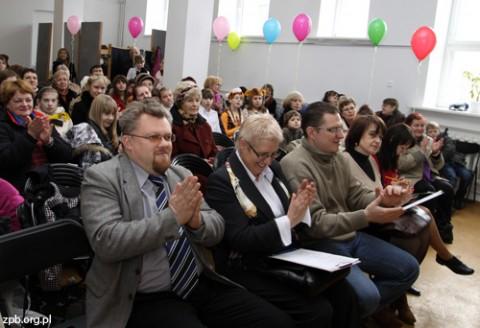 Wszyscy uczestnicy byli obficie nagradzani brawami przez publiczność