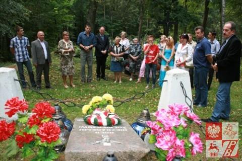 Mała Brzostowica. Zbiorowa mogiła nieznanych żołnierzy poległych we wrześniu 1920 r.