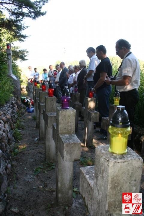 Modlitwa za dusze poległych żołnierzy AK