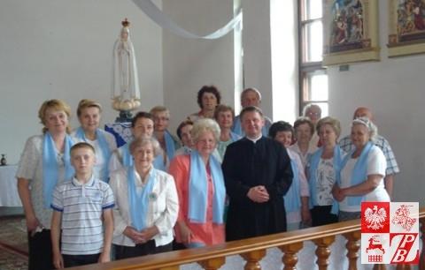 Pielgrzymi z Mińska w Lelczycach