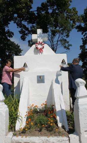 Smorgonie. Pomnik żołnierzy poległych w wojnie polsko-bolszewickiej