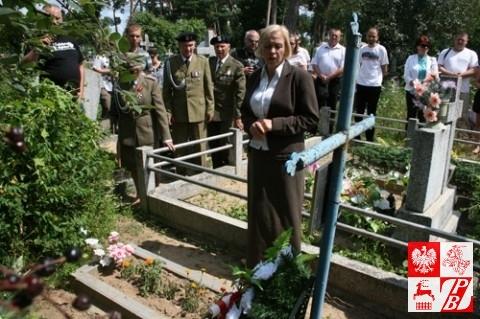 Teresa Pietrowa opowiada o poległym żołnierzu AK