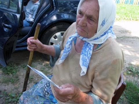 88-letnia Stepanida Jausiejczyk. Fot.: istpravda.ru