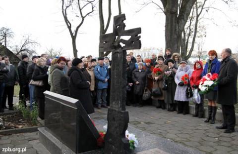 Na cmentarzu garnizonowym w Grodnie