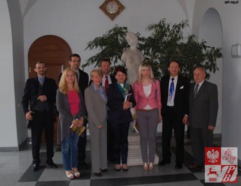 Delegacja ZPB na Uniwersytecie Opolskim