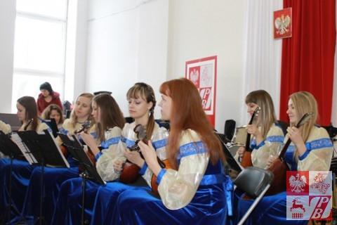 """""""Pożegnanie Ojczyzny"""" Ogińskiego w wykonaniu zespołu instrumentów ludowych"""