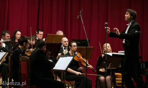 Występ orkiestry Filharmonii Kameralnej im. W. Lutosławskiego w Łomży, fot.: 4lomza.com