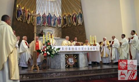 Msza św. celebrowana przez arcybiskupa prof.dr.hab. Edwarda Ozorowskiego, metropolitę białostockiego