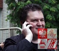 5 lipca 2011r. Andrzej Poczobut po usłyszeniu wyroku