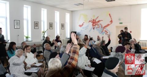 Polacy z Baranowicz wolą, aby Andżelika Borys pozostała na ich zebraniu