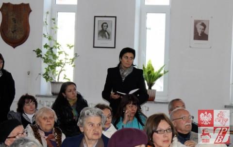 pani z wydziału ideologii baranowickiego komitetu wykonawczego żąda, aby Andżelika Borys opuściła Dom Polski
