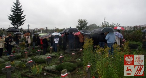 Pogoda płakała w 74. rocznicę obrony Grodna