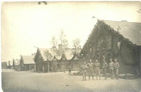 Czechosłowaccy legioniści w Twierdzy Bobrujskiej.