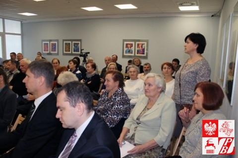 Prezes Oddziału Miejskiego ZPB w Brześciu Anna Adamczyk opowiada o działalności podległej jej struktury ZPB