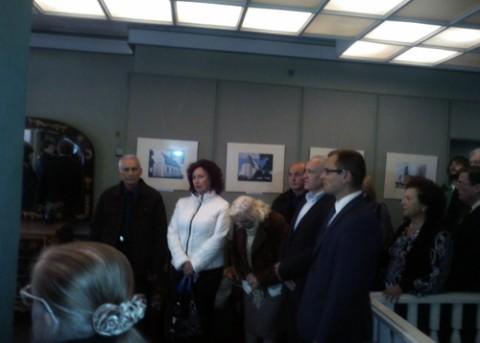 Podczas otwarcia wystawy