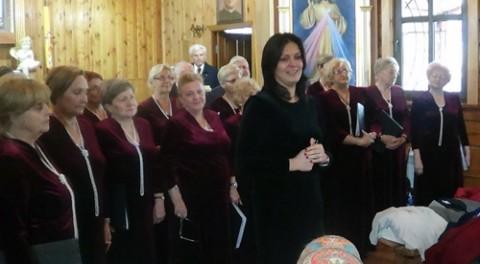 Występ w kościele NMP w Borowlanach