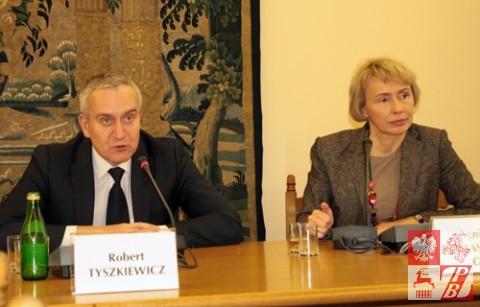 Przemawia Robert Tyszkiewicz