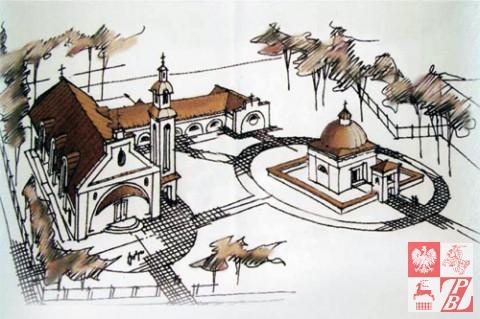 Tak ma w przyszłości wyglądać świątynia na Augustówku.