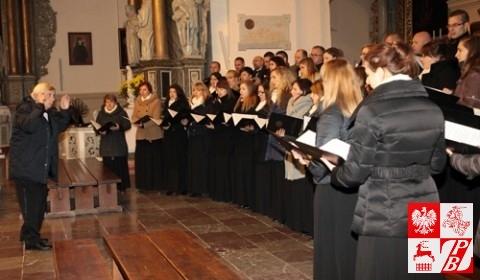Koncert w katedrze grodzieńskiej