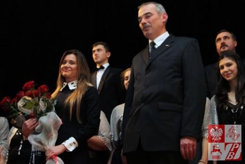 Weronika Szarejko i Paweł Kmiecik