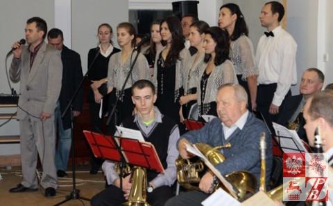 Henryk Sajkowski, prezes oddziału miejskiego ZPB w Grodnie wita zebranych