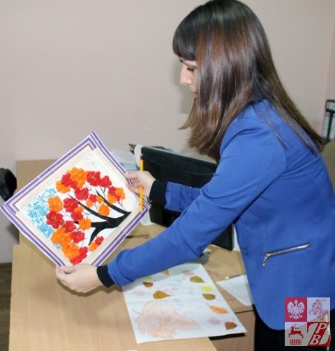 Agnieszka Moroz ocenia prace