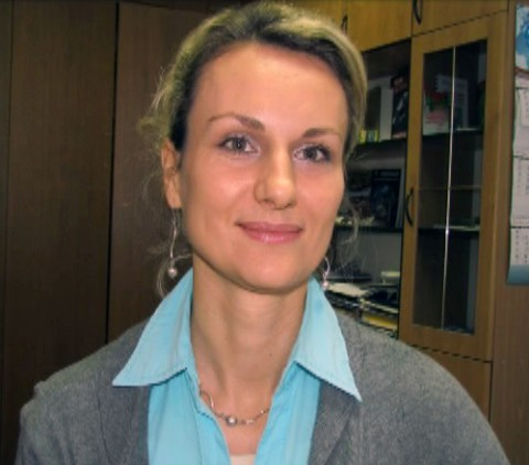 wiceszefowa wydziału ideologii w Slonimskim Rejonowym Komitecie Wykonawczym Natalia Kowalowa, fot.: govorim.by