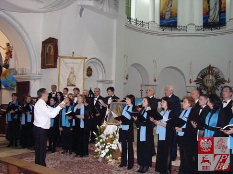 Koncert polskich pieśni patriotycznych