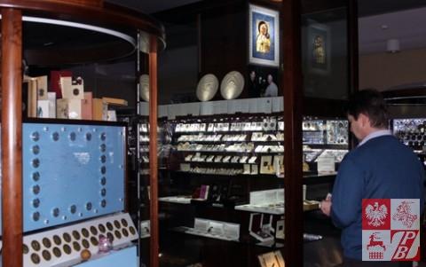 W Muzeum Monet i Medali Jana Pawła II