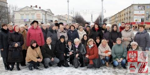 Pielgrzymi ze Związku Polaków na Białorusi