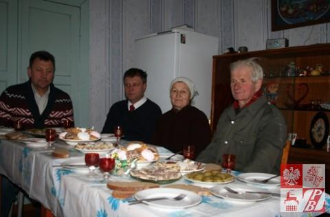 Państwo Lucja i Antoni Korzeniewscy goszczą Mieczysława Jaśkiewicza i Jacka Karnowskiego