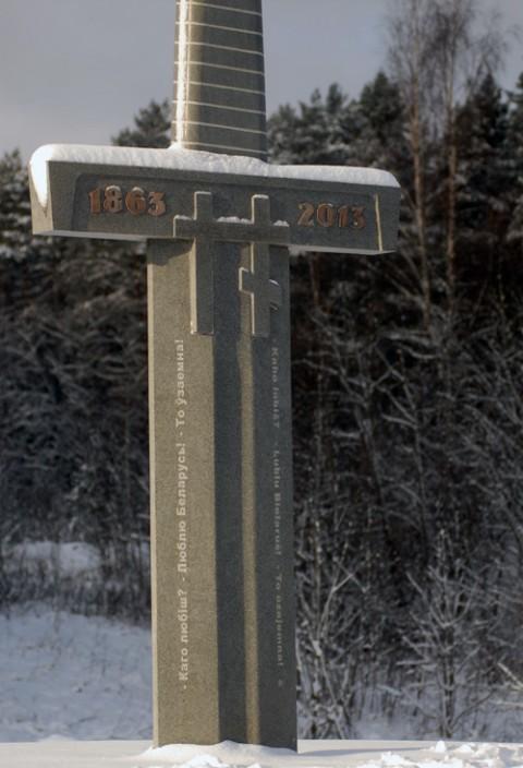 Pomnik powstańcom styczniowym, fot.: zbsb.org/