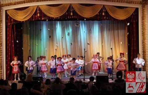 Na scenie - najmłodszy skład zespołu