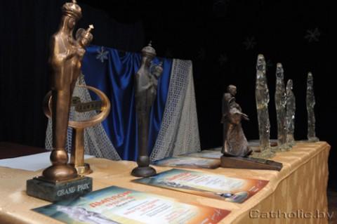 Nagrody festiwalu. fot.:Catholic.by