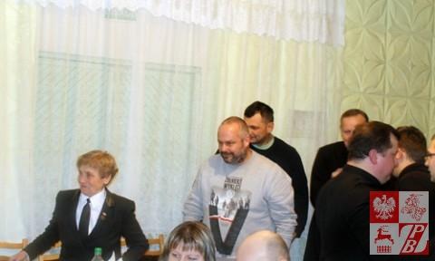 Przybycie gości z Polski w towarzystwie Weroniki Sebastianowicz