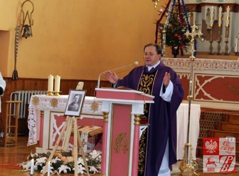 Proboszcz parafii koleśnickiej ks. Anatol Markowski