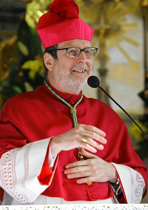 Nuncjusz apostolski na Białorusi abp Claudio Gugerotti