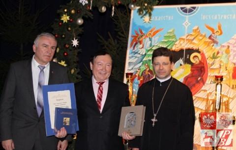 Sergiusz Lubczuk (w centrum)