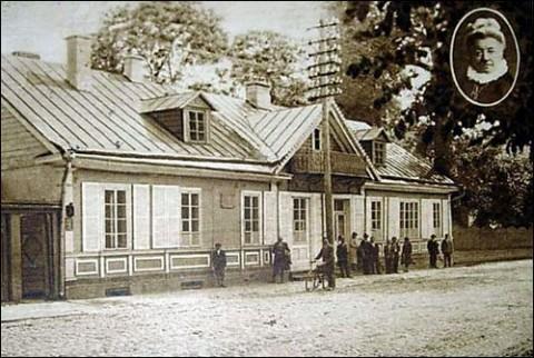 Dom Elizy Orzeszkowej na pocztówce z 1929