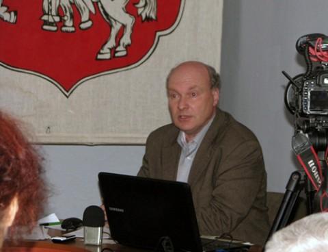 Ihar Kuzniacou, fot.: Istpravda.ru