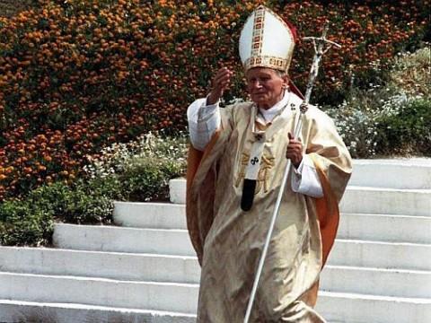 Papież Jan Paweł II w Białymstoku, fot.: Piotr Sawicki/bialystokonline.pl