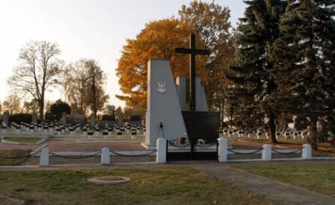 Cmentarz wojenny w Milejowie, gdzie pochowani są m.in. żołnierze 76 Lidzkiego pułku piechoty im. Ludwika Narbutta, fot.: www.1939.pl