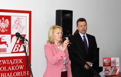 Janina Sołowicz i Mieczysław Jaśkiewicz