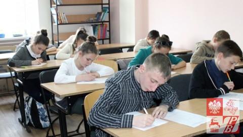 Podczas rozwiązywania testu ortograficznego
