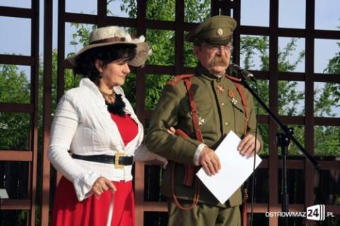 Zofia Trentowska i Andrzej Mierzwiński jako postacie sprzed stu lat